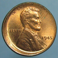 CHOICE BU OFF CENTER 1945 LINCOLN CENT