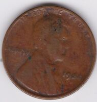 1924-D LINCOLN WHEAT CENT PENNY  KEY DATE