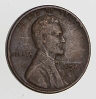 1924-D LINCOLN WHEAT CENT - CIRCULATED 7474