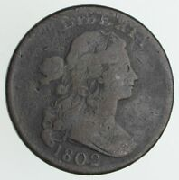 1802 DRAPED BUST LARGE CENT - S-238 CIRCULATED 3992