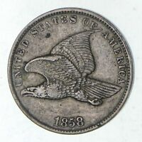 1858 FLYING EAGLE CENT - CIRCULATED 9172