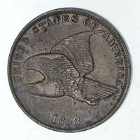 1858 FLYING EAGLE CENT - SHARP 9169