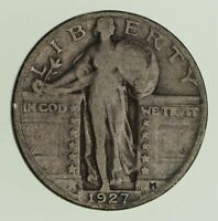 1927-S STANDING LIBERTY QUARTER - CIRCULATED 0465