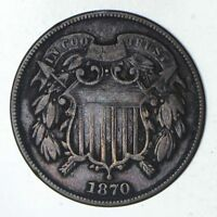 1870 TWO-CENT PIECE - CIRCULATED 9197