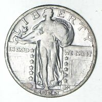 1929 STANDING LIBERTY SILVER QUARTER - CIRCULATED 9221