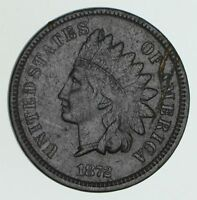 1872 INDIAN HEAD CENT - CIRCULATED 6168