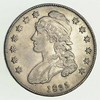 1835 CAPPED BUST HALF DOLLAR - SHARP 9451