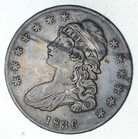 1836 CAPPED BUST HALF DOLLAR - CIRCULATED 9364