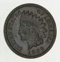 1889 INDIAN HEAD CENT - CIRCULATED 9390