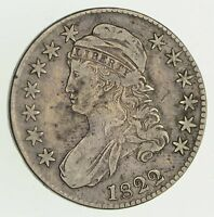 1822 CAPPED BUST HALF DOLLAR - CIRCULATED 9447