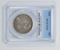 VF35 1831 CAPPED BUST HALF DOLLAR - PCGS GRADED 5483