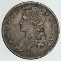 1836 CAPPED BUST HALF DOLLAR - 50/100 CIRCULATED 3958