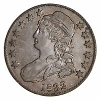 1832 CAPPED BUST HALF DOLLAR - CIRCULATED 9037