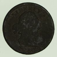 1808 DRAPED BUST HALF CENT - CIRCULATED 8687