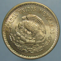 1936 MEXICAN 10 CENTAVOS   BEAUTIFULLY TONED GEM BU