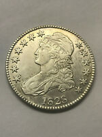 1828 CAPPED BUST HALF DOLLAR EXTRA FINE  1393