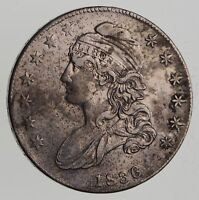 1836 CAPPED BUST HALF DOLLAR - CIRCULATED 7606