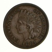 1884 INDIAN HEAD CENT - CIRCULATED 6941