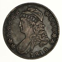 1819 CAPPED BUST HALF DOLLAR - CIRCULATED 7261