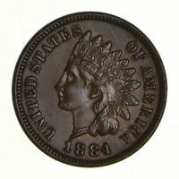 1884 INDIAN HEAD CENT - NEAR UNCIRCULATED 7289