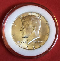 1964 KENNEDY HALF DOLLAR 90  SILVER MS BRILLIANT UNCIRCULATED CONDITION