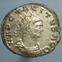 TACITUS MINT STATE & FULLY SILVERED PROVIDENT DEOR ANTONINIANUS FROM ANTIOCH