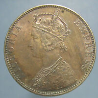 BEAUTIFULLY TONED MINT STATE 1893 C VICTORIA RUPEE