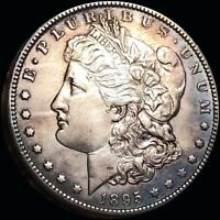 1895 O MORGAN SILVER DOLLAR CHOICE UNCIRCULATED BU VERY RARE