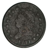 1811/10 CLASSIC HEAD LARGE CENT - CIRCULATED 1250