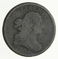 1804 DRAPED BUST HALF CENT - CIRCULATED 4052