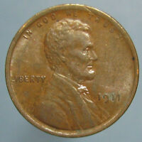 1911 LINCOLN WHEAT CENT   GLOSSY BROWN UNCIRCULATED