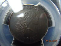 1793 CHAIN LARGE CENT PCGS EXTRA FINE  DETAILS W/ PERIODS, S-3, B-4, R-3, A REAL BEAUTY