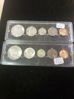 TWO US 5 COIN MINT SETS 1958 AND 1959
