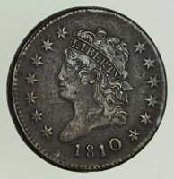 1810/9 CLASSIC HEAD LARGE CENT - CIRCULATED 0645