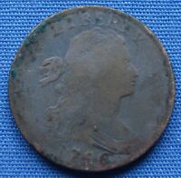 NICE LOOKING 1796 DRAPED BUST LARGE CENT   ESTATE FRESH