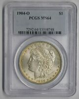 1904 O NEW ORLEANS MINT SILVER MORGAN DOLLAR PCGS MINT STATE 64 VAM 4B