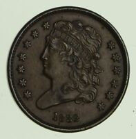 1832 CLASSIC HEAD HALF CENT - CIRCULATED 9978