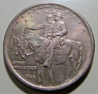 CHOICE BU1925 STONE MOUNTAIN SILVER COMMEMBETTER UNC/MS