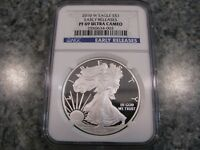 2010 W EAGLE S $1 PF69 ULTRA CAMEO EARLY RELEASES 1OZ SILVER EAGLE COIN NGC