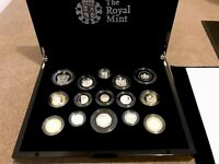 2013 ROYAL MINT SILVER PROOF COIN SET