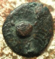 ISLANDS OFF SICILY LOPADUSA 2ND C BC. CRAB / WARRIOR WITH SHIELD  EX ROMA