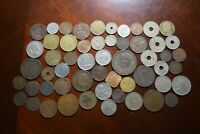 LOT OF OLD WORLD FOREIGN COINS MOSTLY 1800S 1900S LIST 6