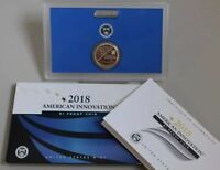 2018 AMERICAN INNOVATION 3 COIN SET P D S $1 COINS IN HOLDER WITH OGP FIRST YR