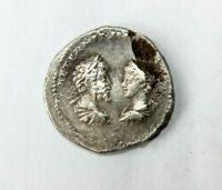 ROMAN IMPERIAL SILVER COIN GETA WITH SEPTIMIUS SEVERUS AND C