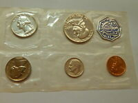 1958 SILVER US MINT PROOF COIN SET   PHILADELPHIA MINT  FLAT