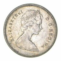 ROUGHLY THE SIZE OF A QUARTER 1968 CANADA 25 CENTS   WORLD S