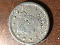 1848 BRAIDED HAIR LIBERTY HEAD LARGE CENT ITEM 0818374