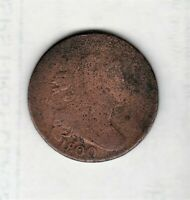 EVER POPULAR TURN OF CENTURY 1800 LARGE PENNY  GOOD COLOR