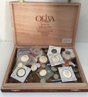 OLD COIN LOT 90  SILVER & UNC COINS AND MORE  5 POUND INCLUD