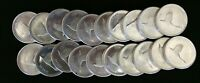 LOT OF 20 1967 CANADIAN DOLLARS  80  SILVER  23.33G AU  COND